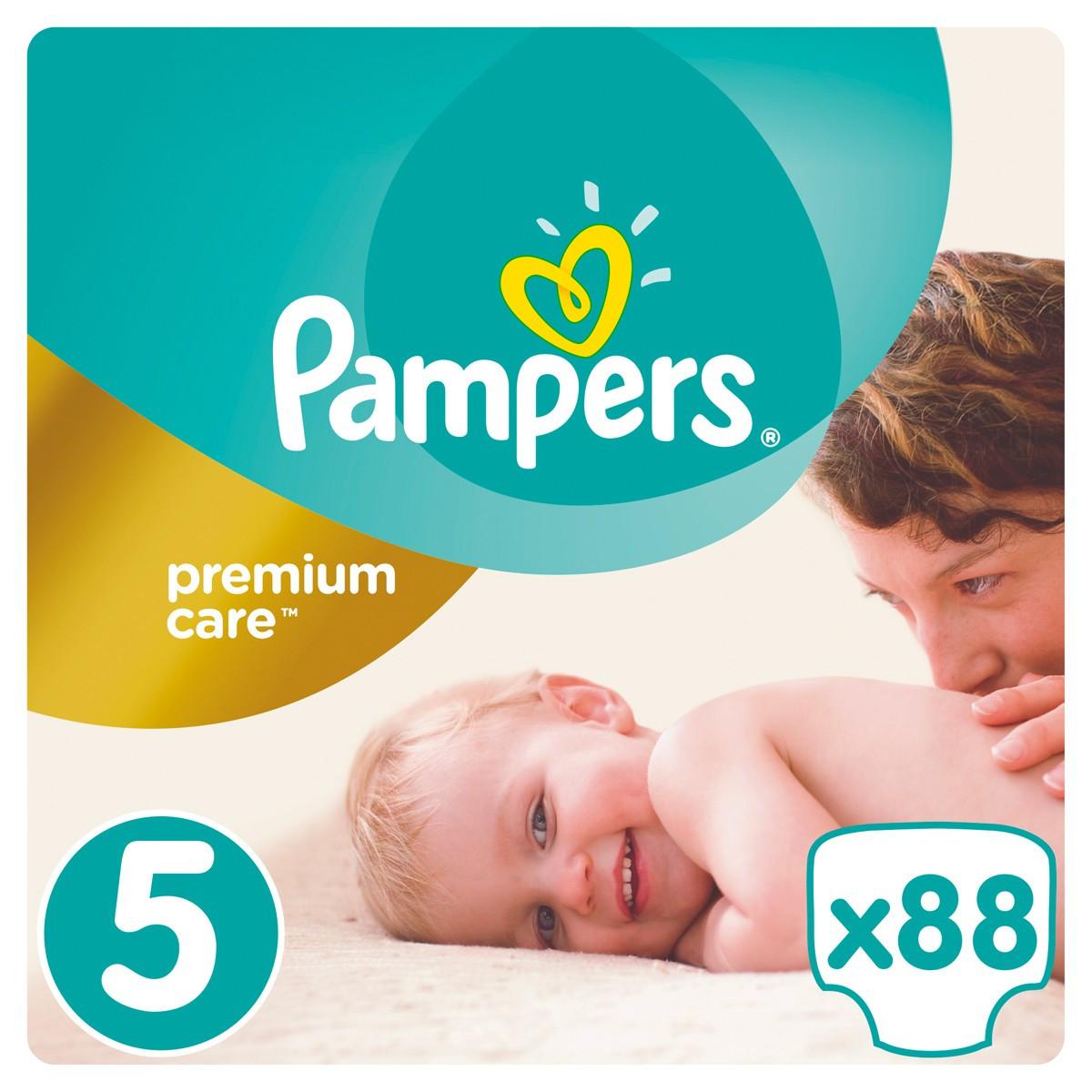 f10bcf32886a Подгузники Pampers Premium Care Dry Max Junior 5 (11-25 кг) Mega Pack 88 шт.