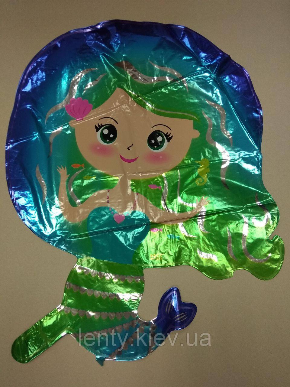 Куля фігурний Русалонька (Зелений)