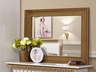 Люстро на стіну з ДСП/МДФ у вітальню спальню Софія Люкс біле Світ Меблів