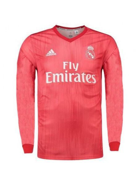 Футбольная форма Реал Мадрид 18/19 резервная длинный рукав