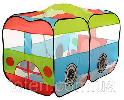Палатка детская автобус M 3330 размер 140-70-90см