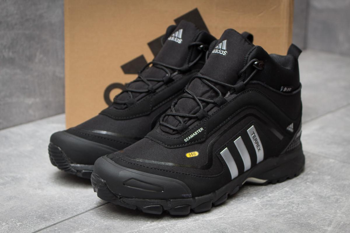432aec93 Зимние кроссовки Adidas Terrex Seamless 350, черные (30071) (реплика) -  Джоль