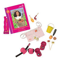 Аксессуары для кукол Одежда садовода и книга Нахлы (18 предметов), Our Generation (BD30280Z)