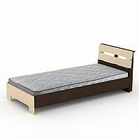 Кровать 90х200 Стиль венге комби Компанит (94х213х95 см), фото 1