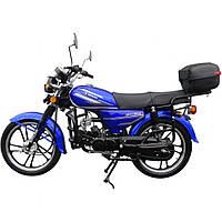 Мотоцикл SPARK SP110C-2(107 см.куб., 5,44 л.с., электростартер, синий), фото 1