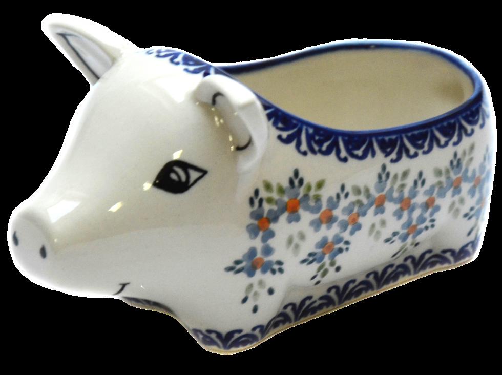 Керамическая форма Свинка для соусов и дипов Q