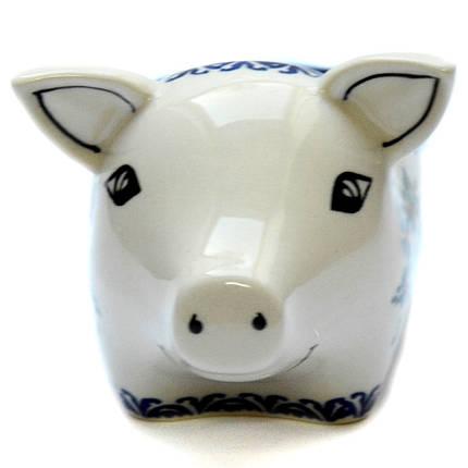 Керамическая форма Свинка для соусов и дипов Q, фото 2