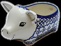 Керамическая форма Свинка для соусов и дипов G, фото 1