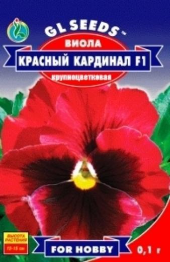 Виола F1 Красный Кардинал - 0.1г - Семена цветов