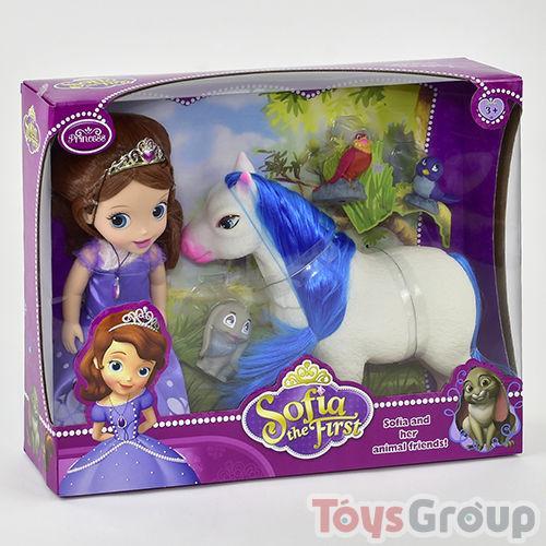 Кукла Принцесса София с лошадкой ZT 8820 (18) в коробке