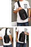 Сумка-рюкзак в стиле Bobby черная, фото 2