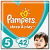 Підгузники дитячі Pampers Sleep&Play Junior 5 (11-18 кг) Ekonom Pack 42 шт