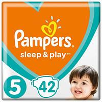 Підгузники Pampers Sleep&Play Junior 5 (11-18 кг) Ekonom Pack 42 шт., фото 1