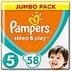 Підгузники Pampers Sleep&Play Junior 5 (11-18 кг) Jumbo Pack 58 шт