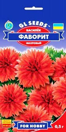 Василёк Фаворит красный - 0.5г - Семена цветов, фото 2