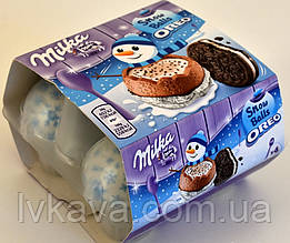 Шоколадные шары  Milka Snow Balls Oreo , 4 х 28 гр
