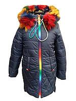 Пальто зимнее на девочку 233, фото 1