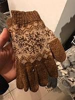 Женские зимние перчатки, Женские рукавички, зимние рукавички