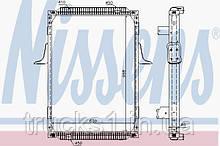 Радиатор Renault 63787A (NISSENS)