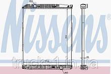 Радиатор Mercedes 626490 (NISSENS)