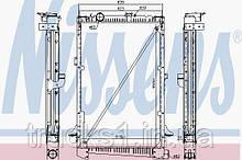 Радиатор DAF 61442A (NISSENS)