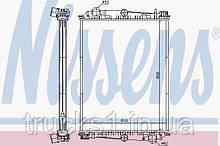 Радиатор DAF 614400 (NISSENS)