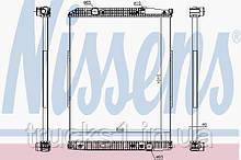 Радиатор Mercedes 627910 (NISSENS)
