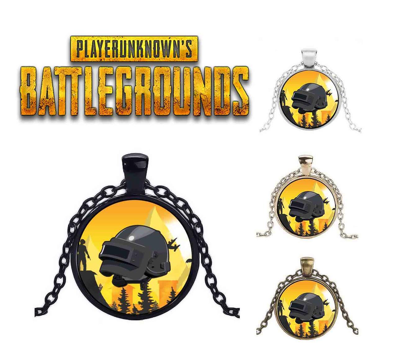 Кулон на желтом фоне PlayerUnknown's Battlegrounds  PUBG