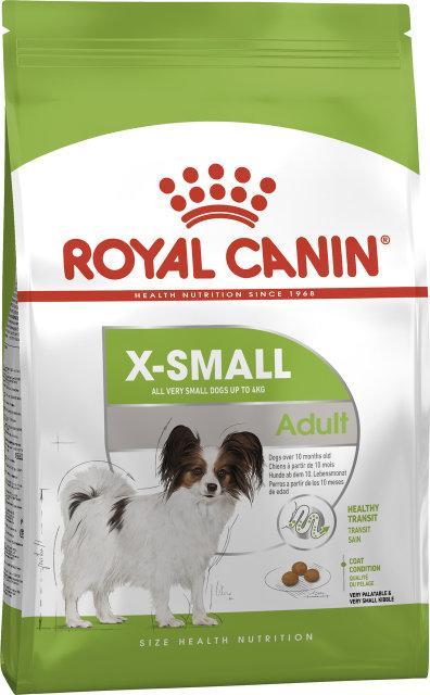 Royal Canin X-Small Adult 3кг-корм для собак миниатюрных размеров