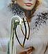Длинные золотые серьги, фото 3