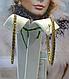 Длинные золотые серьги, фото 2