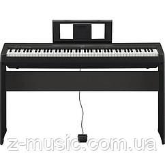 Цифровое пианино Yamaha P-45 (педаль, пюпитр и блок питания)
