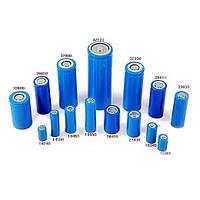 Цилиндрические Литий-ионные аккумуляторы Li-Ion / Li-Po 18650, 16340, 14500, 26650