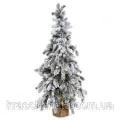 Елка искусственная в снегу, высота 125 см, Новогодние елки днепр