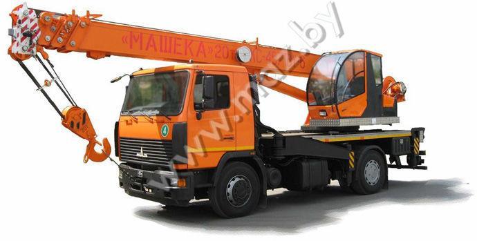 Автовышка МАЗ КС-4571BY-6, 8, 9