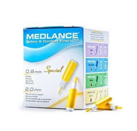 Ланцет автоматичний Medlance® plus Special (жовтий), фото 2