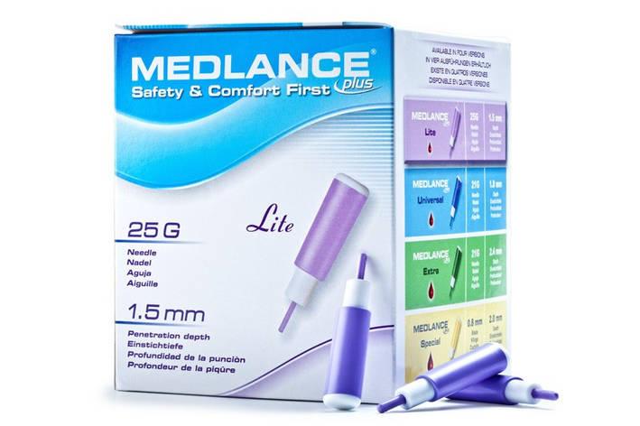 Ланцет автоматичний Medlance® plus Lite (фіолетовий), фото 2