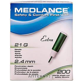 Ланцет автоматичний Medlance® plus Extra (зелений)