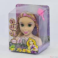 Кукла-Голова ZT 8810 (12) Манекен для причесок и макияжа, в коробке