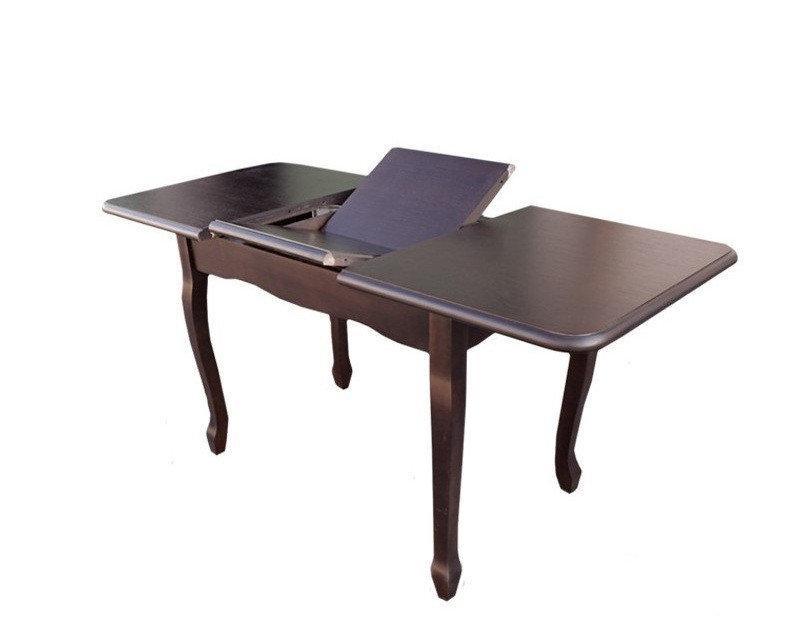 Стол Лидер 110(+40)*70 венге шоколад раскладной