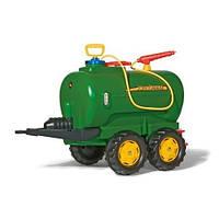 Прицеп цистерна с распылителем и насосом Rolly Toys 122752