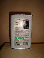 Профессиональный чернитель резины шин Grass Black Brilliance (1 литр)