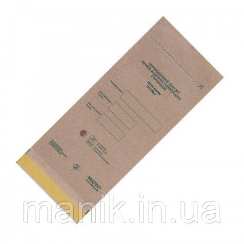 Крафт пакеты для стерилизации 75х150мм  100шт