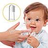 Пальчиковая щетка-массажер из силикона (первая зубная щетка)