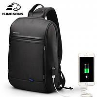 Городской рюкзак Kingsons для ноутбука на одно плечо Спортивный рюкзак