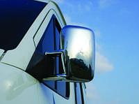 Накладки на зеркала (2 шт, пласт) - Mercedes Sprinter 1995-2006 гг.