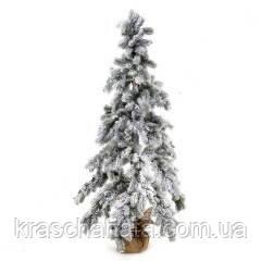 Елка искусственная в снегу, высота 150 см, Новогодние елки днепр