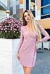 Женское платье трикотажное рубчик (7 цветов), фото 4