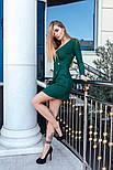 Женское платье трикотажное рубчик (7 цветов), фото 6