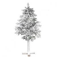 Елка искусственная в снегу на деревянной подставке, высота 180 см, Новогодние елки, Днепр